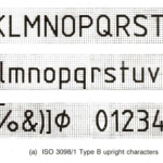 Iso 3098 B Font Preview